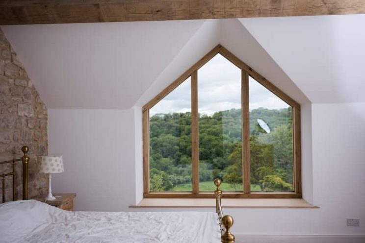 Apex window in country home near Bath