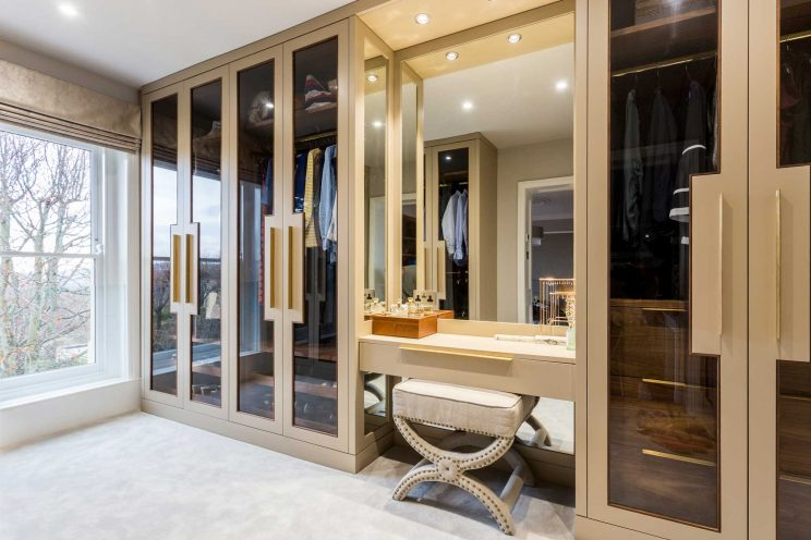 High-quality, bespoke wardrobes