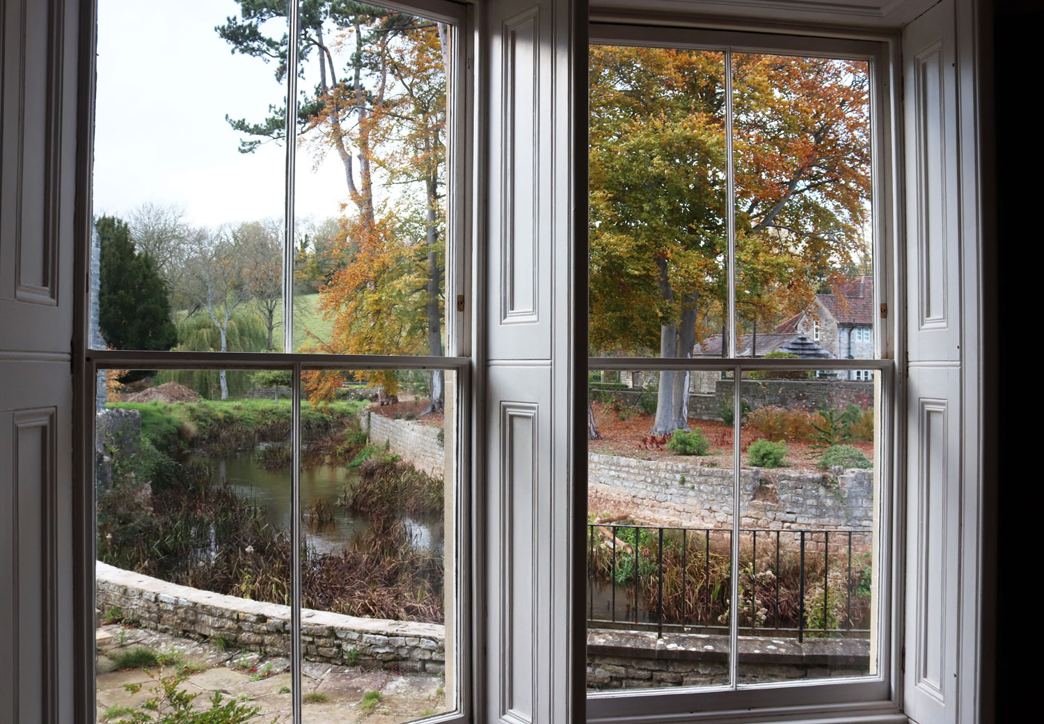 Sash window restoration in a Grade II listed home