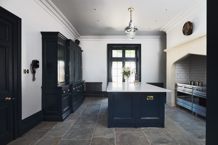 Classic kitchen in listed manor house