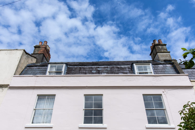 Sash window restoration in period property